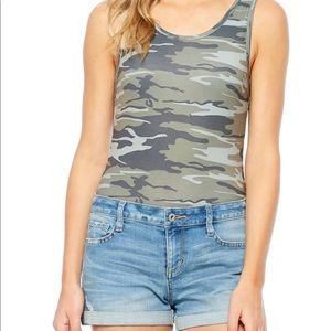 Tops - Camouflage body suit